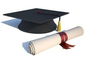 Graduierung-Hut