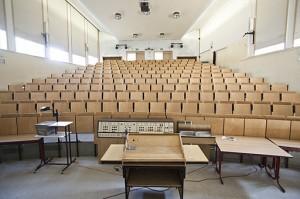 Hörsaal wie zum Beispiel beim Medizinstudium