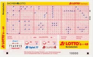 Losverfahren - Lottospiel um einen Studienplatz