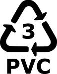 Plastik-symbol PVC